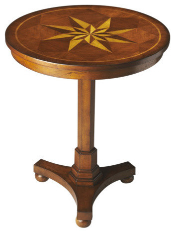 Butler Seymour Antique Cherry Accent Table.