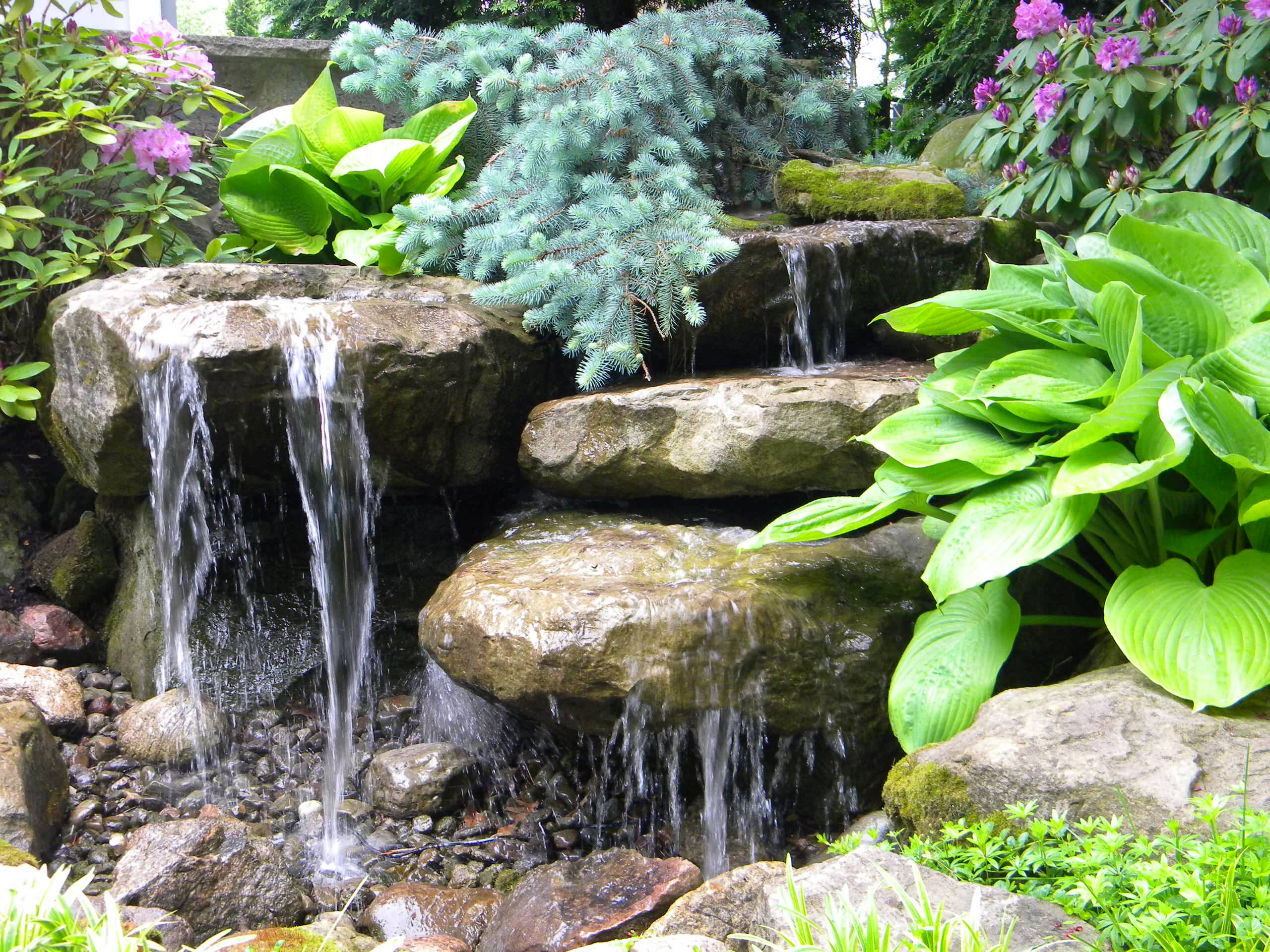 Carved Stone Water Features 2