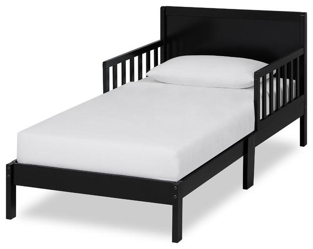 Dream On Me Brookside Toddler Bed, Black