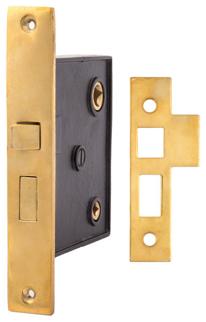 Privacy Interior Mortise Lock 2805 Contemporary Pocket Door