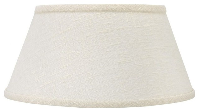 White linen 14 bouillotte style lampshade replacement traditional white linen 14 bouillotte style lampshade replacement traditional lamp shades aloadofball Images