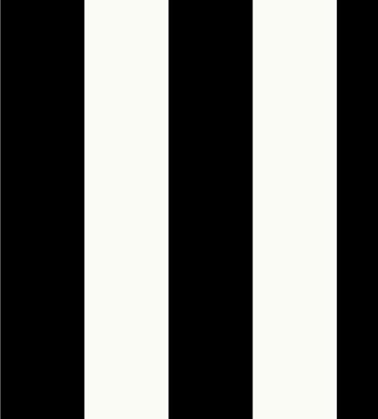 Medium Black And White Stripe, Sy33918 Wallpaper. -1