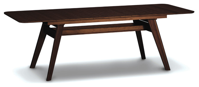Currant Extendable Dining Table 72 92 Black Walnut