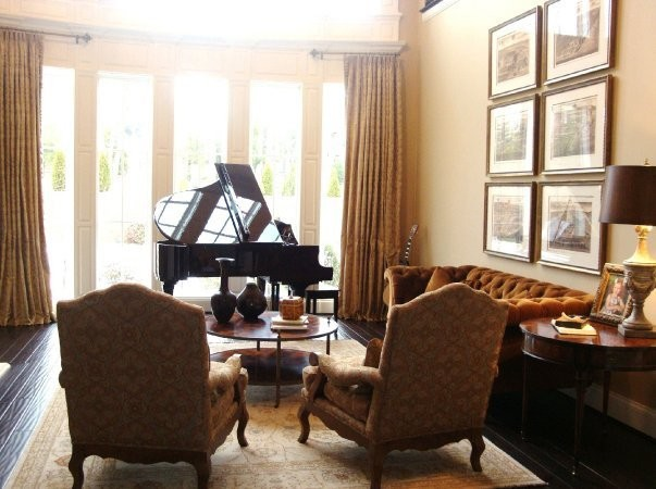 grand piano living room brentwood traditional living room nashville by 16166