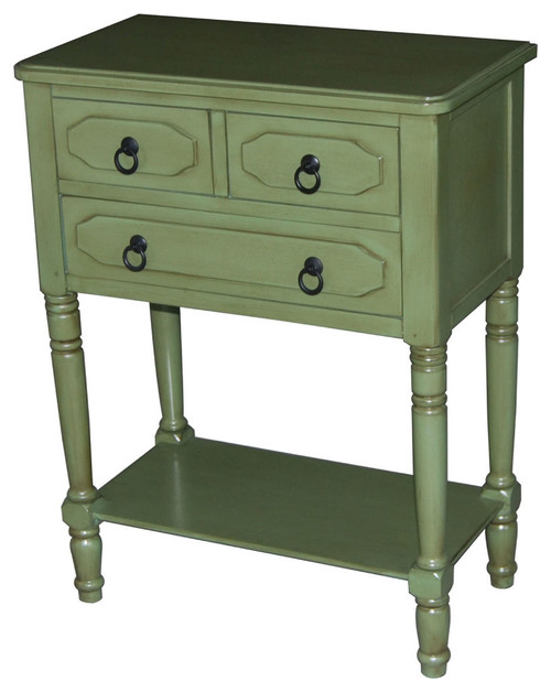 Simple Simplicity Accent Chest in Green