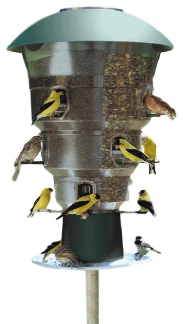 Nature S Needs Inc Aviary 12 Port Bird Feeder View In