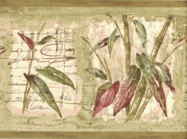 Wallpaper Border Bamboo 80b64171 Prepasted