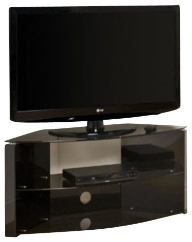 Tech Link Corner Bench Three Shelf TV Stand Black - Entertainment Centers And Tv Stands - by ...