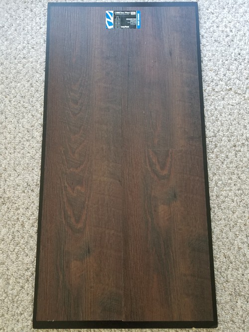... this a good choice for flooring. We have three dogs light to moderate  winters and we are on a crawl space as our subfloor. Picture of sample  included. - Do You Regret Wood-look Vinyl Planks?