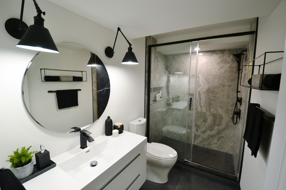 Alson Mills Residence - Basement Bathroom
