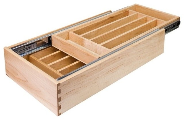 """Double Cutlery Drawer, 21"""""""