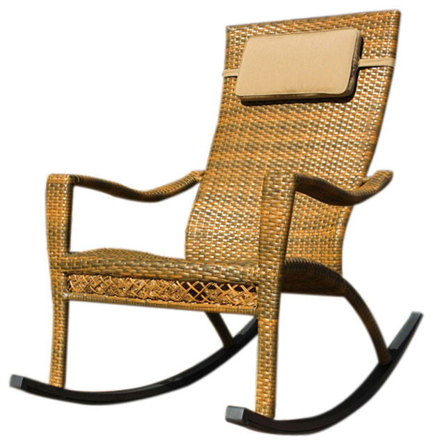 Tortuga Outdoor Maracay Rocking Chair Modern Rocking Chairs by clickher