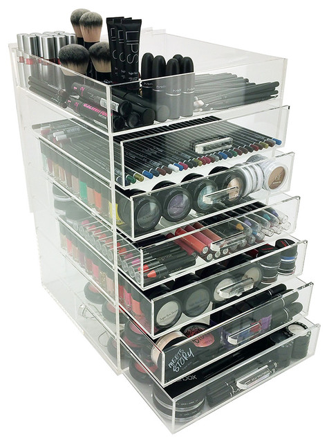 Ondisplay 7 Tier Acrylic Cosmetic Makeup Organizer.