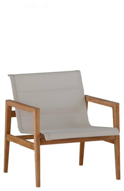 Summer Classics Coast Teak Lounge Chair