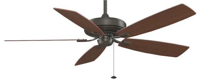 "Fanimation Edgewood 60"" Traditional Ceiling Fan, Deluxe Series X-Bo017ft."