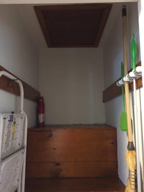 attic transformation ideas - Attic access Closet Transformation Ideas