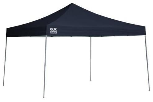 Shelter Logic 12&x27;x12&x27; Quik Ex144 Straight Leg Canopy, Twilight Blue.