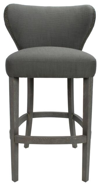 Savannah Antique Grey Bar Chair