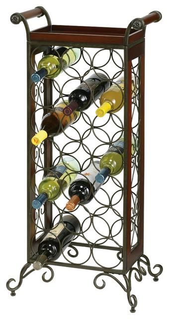 Howard Miller Wine Butler 36 Tall Tabletop Clock.