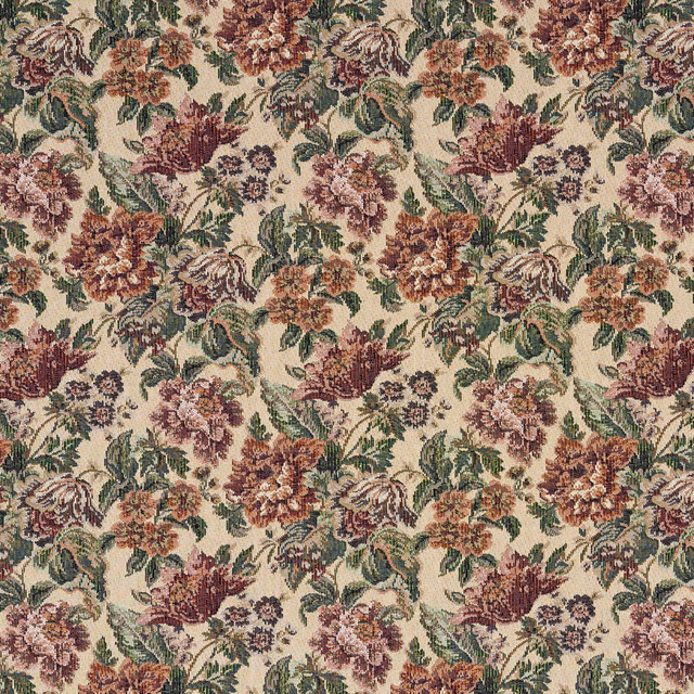 Fl Tapestry Upholstery Fabric