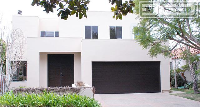 garage doors los angelesLos Angeles Custom Modern Garage Doors  Matching Entry Door