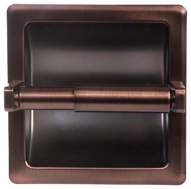 Arista Recessed TP Holder, Oil Rubbed Bronze