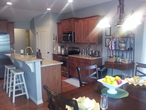 How Do I Make The Living Room Blend With Kitchen