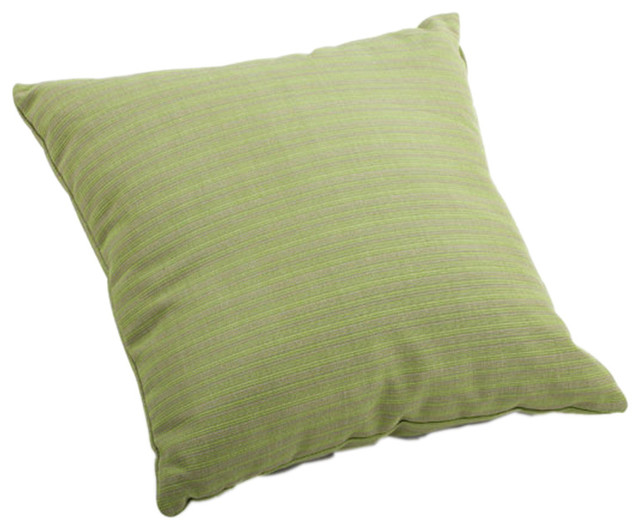 zuo home patio cat small outdoor pillow apple green linen