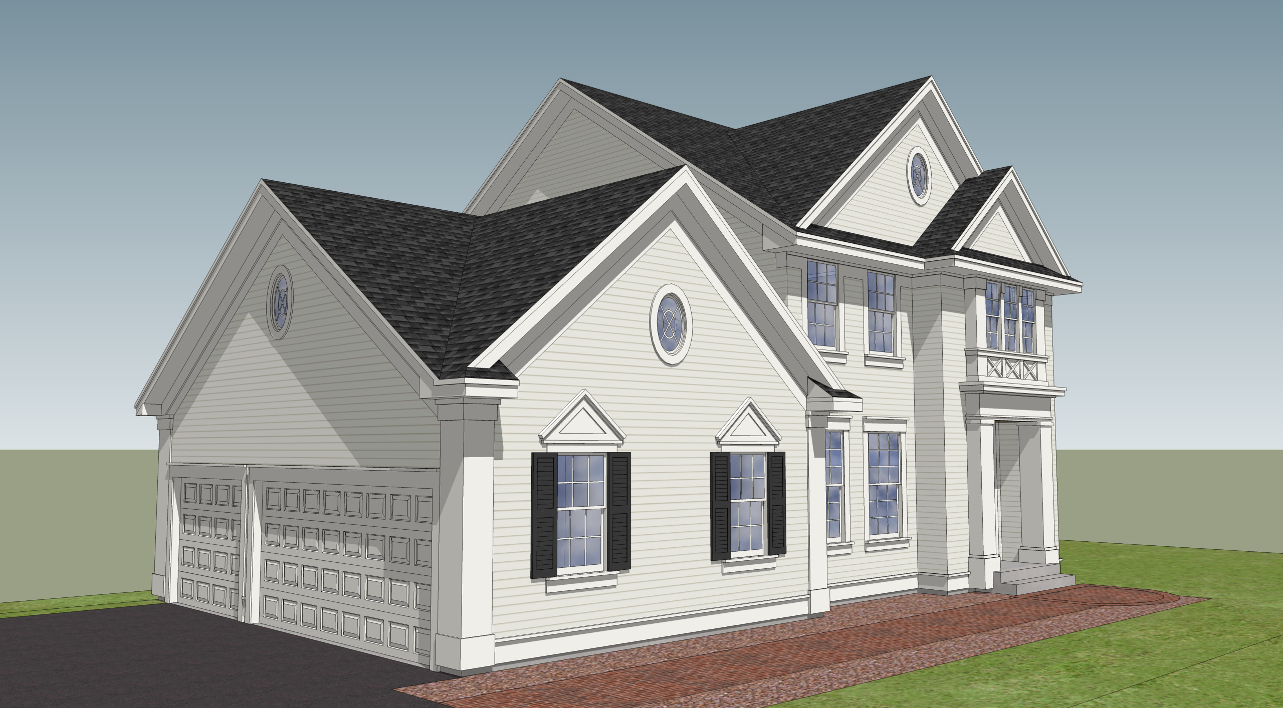 Woodbury - 3D design