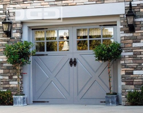 Custom Garage Doors Garden Gates Shutters in a French