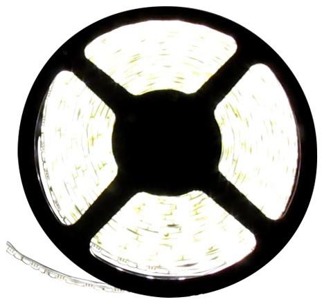 Flexible 16' LED Light Strip, Cool White, Reel Only