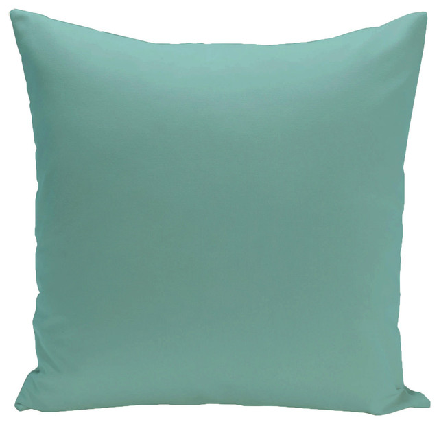 Jade Decorative Pillows : E by Design - Solid Decorative Pillow, Jade - View in Your Room! Houzz