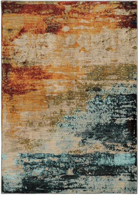 "Oriental Weavers Sedona 6365 Area Rug, Multi, 9&x27;10""x12&x27;10"", Rectangle."