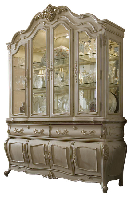 Lavelle Blanc China Cabinet - Victorian - China Cabinets And ...