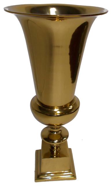 Gwendolyn Aluminum Vase, Large