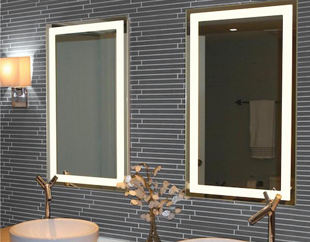 Illume Led Rectangle Backlit Mirrors