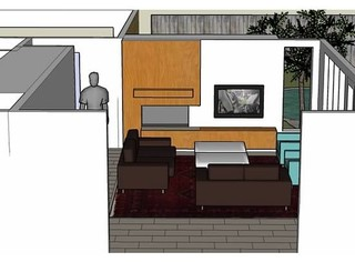 Help me design my fireplace wall for Help me design my garden