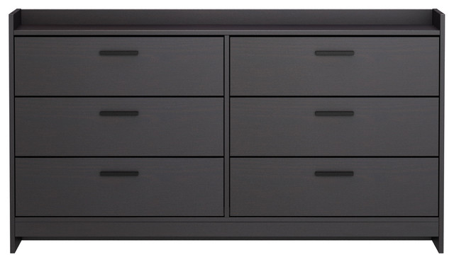 Homestar Central Park Drawer Dresser  Black Brown modern dressers. Homestar Central Park Drawer Dresser   Modern   Dressers   by
