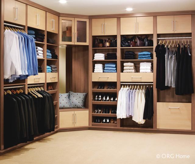 High Quality ORG Home Closet Organization Systems Contemporary