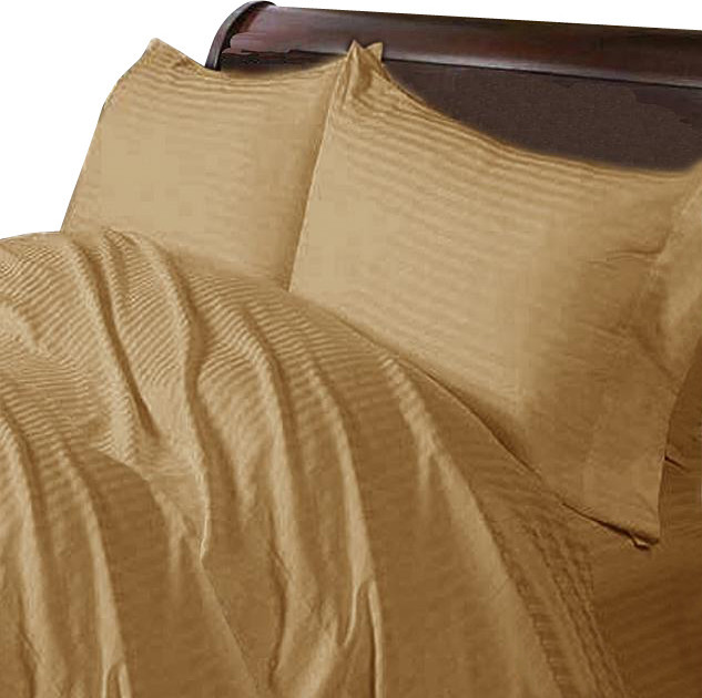 400tc 100 egyptian cotton stripe full size flat sheet contemporary flat sheets by world. Black Bedroom Furniture Sets. Home Design Ideas
