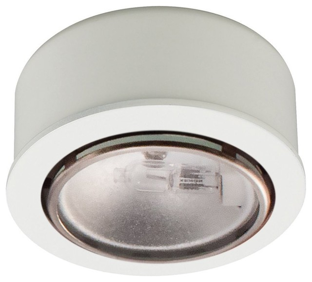 Xenon Low Voltage Button Puck Light - Contemporary - Undercabinet Lighting - by Pegasus Lighting