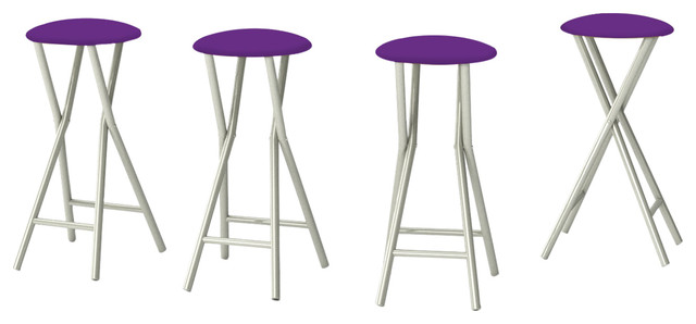 Solid Purple Stools Only.