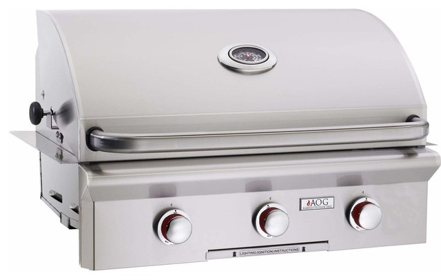 "American Outdoor Grill T-series 30"" Built-in Natural Gas Grill"