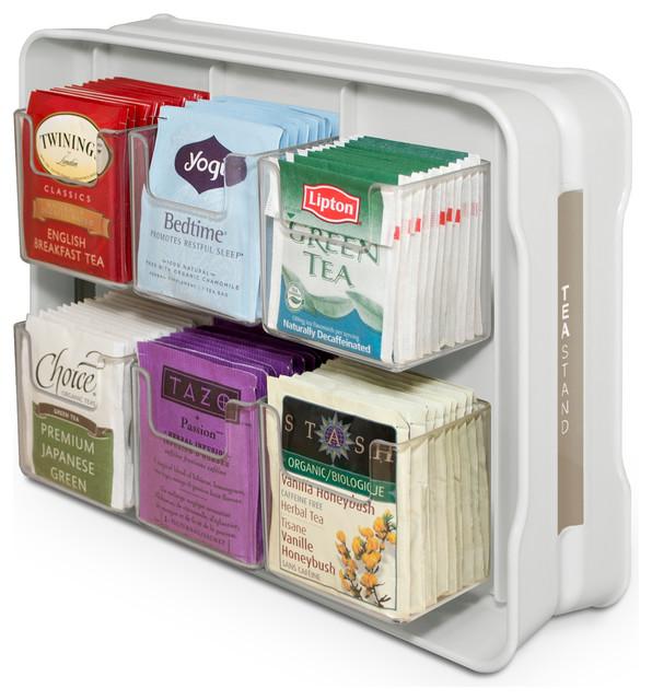 Teastand Tea Bag Cabinet Organizer And Caddy
