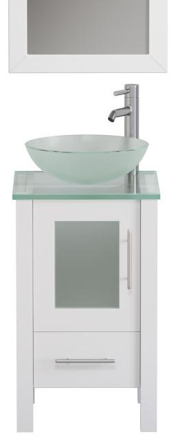 Bathroom Vanities And Sink, 18 Inch Bathroom Vanity With Vessel Sink