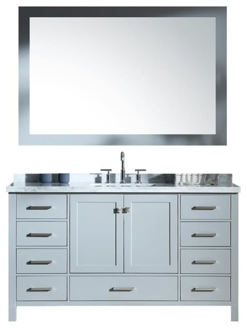 Ariel Cambridge 61 Single Sink Vanity