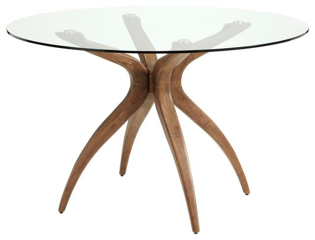 Islington Hevea Wood Dining Table, Round