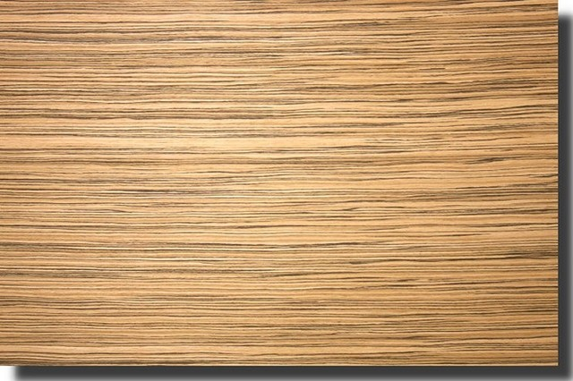 Zebrawood Veneer Quartered Italian Modern Siding And
