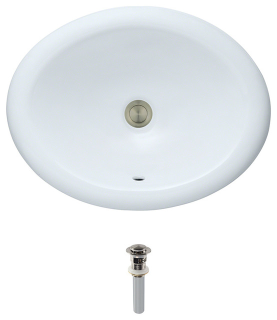 direct o1917 overmount porcelain sink transitional bathroom sinks