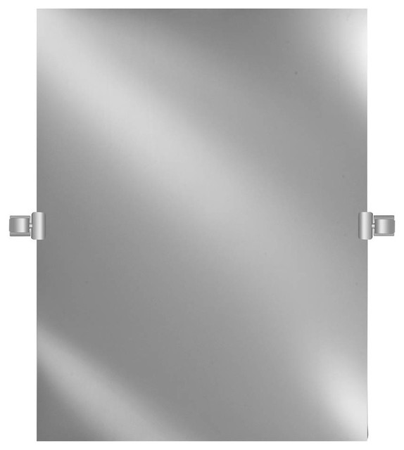 Polished Edge Mirror, Polished Nickel, Polished Nickel   Contemporary   Bathroom  Mirrors   By ShopLadder